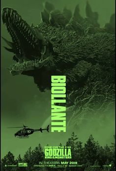 Godzilla King of the Monsters: Biollante King Kong, Kaiju Size Chart, Animatronic Fnaf, Godzilla Franchise, All Godzilla Monsters, Godzilla Wallpaper, Monster Art, Film Posters, Funny Art