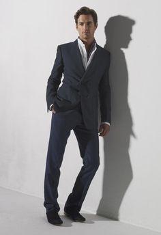 Viktor & Rolf's linen jacket Dolce & Gabbana's cotton shirt and Simon Spurr's wool pants Gucci scarf and Giorgio Armani shoes
