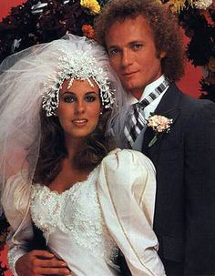 Genie Francis & Tony Geary as Luke and Laura