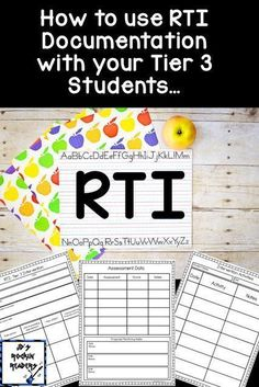 Are you looking for a FREE RTI Progress Monitoring resource? If you teach preK, Kindergarten, or grade - you're going to LOVE this resource! It works great for classroom teachers AND those in special Response To Intervention, Reading Intervention Classroom, Teacher Resources, Teaching Ideas, Resource Teacher, Resource Room, Reading Resources, Student Teaching, Reading Specialist