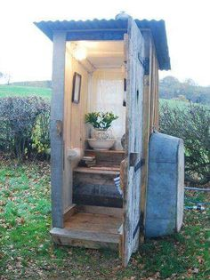 wonderful add bathroom outdoor | Adding an outhouse to your homestead can be beneficial in ...