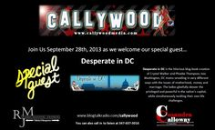 Listen in to our BlogTalk Radio interview with Cosandra Calloway of Callywood on Sept. 28th! Check it out at blogtalkradio.com/callywood