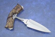 push dagger | Fluted Handled Push Dagger