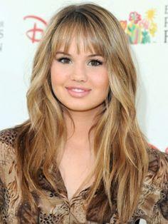 Debby Ryan - layered hairstyle