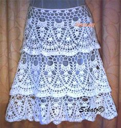 crafts for summer: lace fashion, free crochet patterns - crafts ideas - crafts for kids