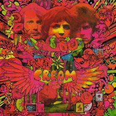 "Disraeli Gears"" - Cream - Rock Fever"