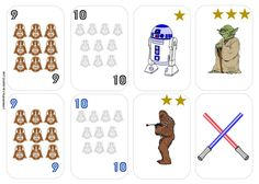 Londonopoly: Star Wars- colours and numbers