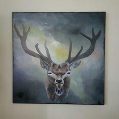 Deer painting 🐮