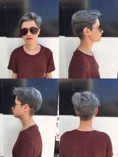 Dark grey hair 🙏👍👐
