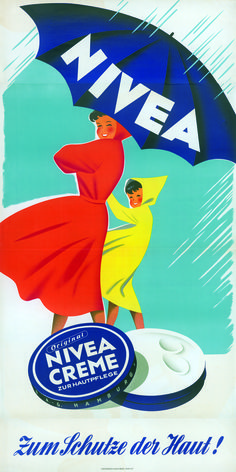 poster NIVEA Retroanzeige - Love this ad. Retro Poster, Poster Ads, Retro Ads, Vintage Packaging, Vintage Labels, Vintage Advertising Posters, Vintage Advertisements, Images Vintage, Vintage Designs