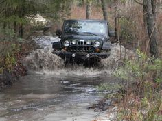 Fun out in the woods <3 jeep riding w/ my parents when I was a kid