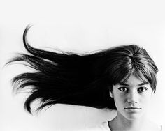 Françoise Hardy, 1965 © Jean-Marie Perier