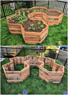 Need DIY garden projects and ideas to decorate your home outdoor? Find 101 DIY garden projects made with recycled materiel to upgrade your garden at no cost. Diy Gardening, Container Gardening, Gardening Quotes, Organic Gardening, Diy Garden Projects, Easy Projects, Pallet Garden Projects, Garden Crafts, Vegetable Garden Design