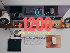 Todos feitos com muito carinho! Nosso desejo é fazer parte do seu projeto! 28 anos de muita qualidade para você! www.lucianatomas.com.br