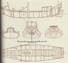 """shaohing-ch'uan, or Hangchow Bay Trader: A Chinese junk with a """"whaleba… – Now YOU Can Build Your Dream Boat With Over 500 Boat Plans! Wooden Boat Plans, Wooden Boats, Junk Ship, Boat Projects, Boat Building Plans, Boat Design, Yacht Design, Wooden Ship, Used Boats"""