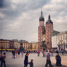 Kraków, the most beautiful city in the world (at least in my opinion!).