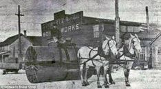 Image result for nineteenth century snow roller