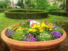 invader tra i fiori