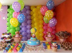 Festa Infantil: ursinha aventureira