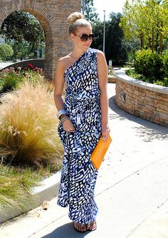One Shoulder Maxi!