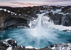"""""""Aldeyjarfoss"""" by staceyskalkos! Find more inspiring images at ViewBug - the world's most rewarding photo community. http://www.viewbug.com/contests/landscapes-of-iceland-photo-contest/58527815"""