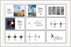 Escape Powerpoint Template by Slientslide on @creativemarket