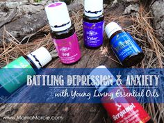 Essentials oils for anxiety and depression