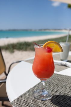 Rum punch, Anguilla. The one and only drink. Divine.