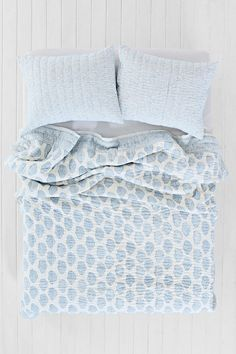 Magical Thinking Blue Paisley Quilt - Urban Outfitters
