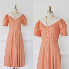 Vintage LAURA ASHLEY 40s Style Dress by MariesVintage on Etsy - Stylehive