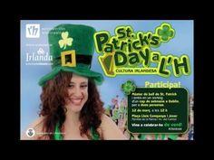 Únete a nuestro baile irlandés en la Masterclass de San Patricio en L'Hospitalet de Llobregat - YouTube Saint Patricks, St Patrick, Youtube, Saint Patrick, Music Videos, Town Hall, Second Best, Youtubers, Youtube Movies