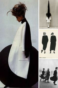Vintage 80's and 90's #COMMEdesGARCONS ads. #modernarchive