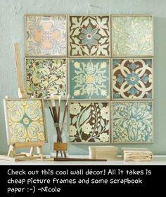 Cheap wall art!