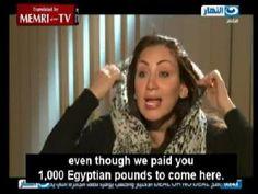 La presentatrice egiziana Riham Said è stata protagonista di una discussione molto accesa sul velo durante unintervista con un religioso musulmano, Yousuf Badri. La giovane donna, durante la trasmissione, decide polemicamente di togliere il velo. La puntata, registrata