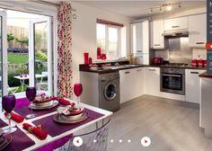 Kitchen ideas.  Grittleton, Barratt Homes.