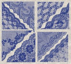 Navy Blue Lace PNG Clipart by Digital Curio on @creativemarket
