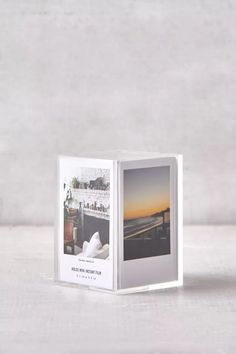 Instax Mini Cube Picture Frame | Urban Outfitters Mini Picture Frames, Picture Wall, Cube Film, Anniversary Boyfriend, Polaroid Pictures, Polaroids, Casual Wedding, Wedding Attire, Installation Art