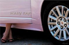 Trophy on Wheels. The Mary Kay pink Cadillac! One day baby! One Day!