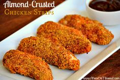 Almond-Crusted Chicken Strips 17 Heart-Healthy Recipes That Actually Taste Great Heart Diet, Heart Healthy Diet, Heart Healthy Recipes, Healthy Meals For Kids, Diet Recipes, Healthy Eating, Cooking Recipes, Chicken Strip Recipes, Chicken Strips