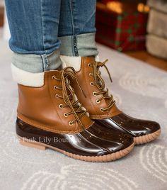 Classic Duck Boots Brown