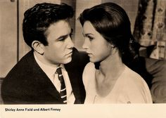 Albert Finney and Shirley Anne Field in Saturday Night and sunday Morning