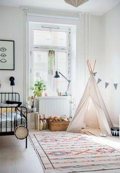 adorable kids bedroom // my scandinavian home: A delightful family home in Stockholm Boys Bedroom Sets, Bedroom Ideas, Danish Modern Furniture, Gravity Home, Small Bedroom Designs, Kids Bedroom Furniture, Furniture Dolly, Eclectic Decor, Eclectic Bedrooms