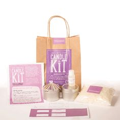 MAKE Your Own Candle Kit - Mediterranean Fig Send someone special the hand-made gift of a scented soy wax candle (or why not keep it as a treat for yourself?). Available in the SCENT-sational Mediterranean Fig fragrance, this Make Your Own Candl http://www.MightGet.com/january-2017-13/make-your-own-candle-kit--mediterranean-fig.asp