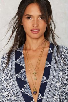 Vanessa Mooney Kiss Pendant Necklace | Shop Accessories at Nasty Gal!