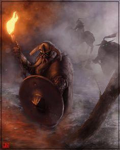 Vikings - The vicious hunt by *SharpWriter on deviantART