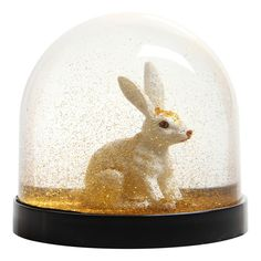 Schneekugel Hase-Gold Klevering Kind- Große Auswahl an Design auf Smallable, dem Family Concept Store – Über 600Marken.
