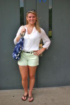 CollegeFashionista Roanoke College Style Advice of the Week: Denim Shorts