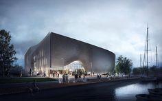 1st PRIZE in architectural competitionLeba / Poland - architecture: Plus3 Architekci