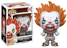 #Funko : IT-Exclusive IT #Pennywise with Teeth Funko #Pop