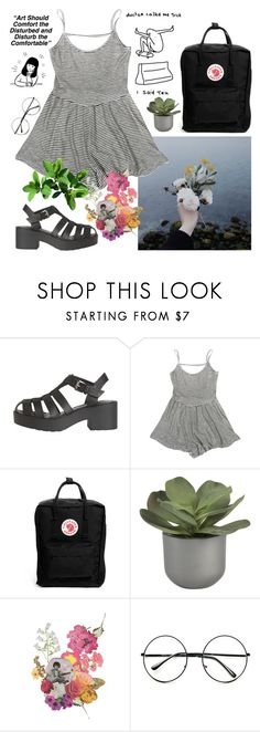 """ABC About me"" by sleepy-sarcasm ❤ liked on Polyvore featuring Windsor Smith, Fjällräven, Crate and Barrel, Clare Celeste, Retrò, women's clothing, women's fashion, women, female and woman"